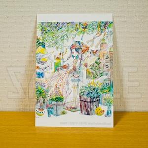 「さなぎの憩い場-東の森店-」ポストカード