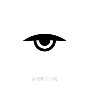 Adobe Illustrator aiファイル NONUMBERLESS EVIL EYE ICON - 2015