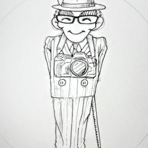アイコン用アナログ画描きます❗