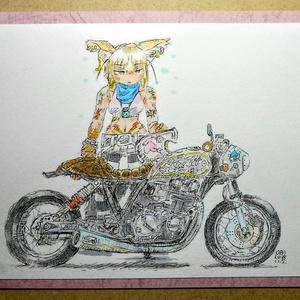 台紙付イラスト『KURInoSATO PARK1』B59