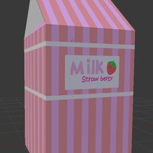 【YK's Atelier】いちごミルク