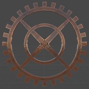 【YK's Atelier】歯車2種セット(アニメーション付き)