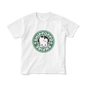 カラー柴ロゴTシャツ
