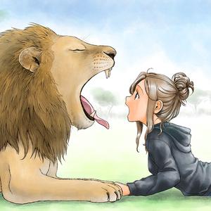 レンズクロス(ライオン女子)