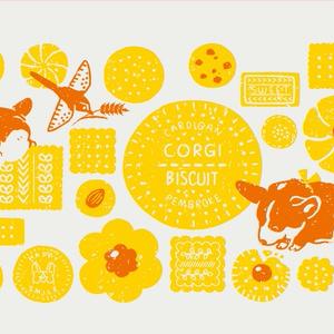 コーギーA4ポスター
