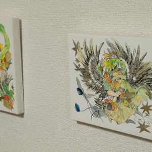 花の姉弟原画(F0パネル)
