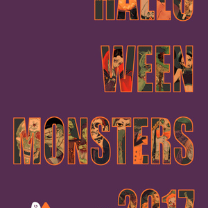HALLOWEEN MONSTERS 2017