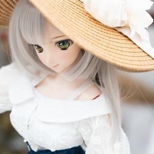 DD・DDSサイズ麦わら帽子(広つば)