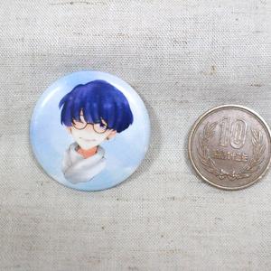 まっしゅメガネ缶バッジ(2種セット)