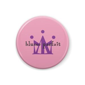 blume parfait ピンク地紫