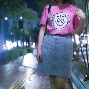 ゴリラT ピンク(ゴリラん家発送)