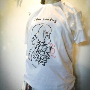 [RO]アクビさんTシャツ(翆)