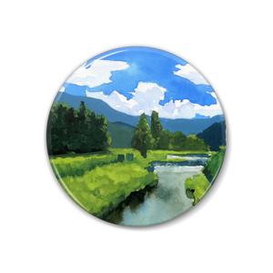 風景の缶バッジ 1