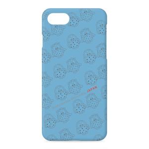 ふくちゃん・みみちゃんのiPhoneケース ブルー