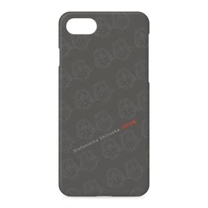 ふくちゃん・みみちゃんのiPhoneケース ダークグレー