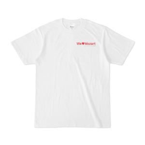 Tシャツ 白 シンフォニエッタ静岡 We♡Mozart