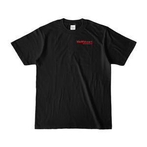 Tシャツ ブラック シンフォニエッタ静岡 We♡Mozart