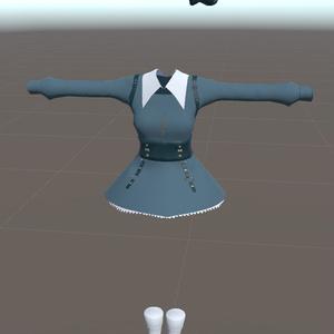 【スキニング済み】純米大吟醸デザインVRC向け衣服