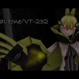 VRC向けオリジナル3Dモデル『シエラレオネ/VT-232』