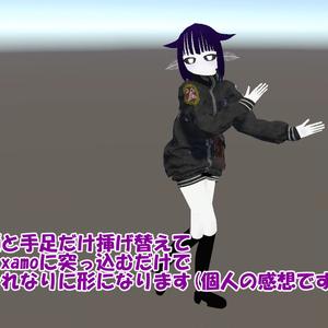 【スキニング済み】VRC向けパンクな服