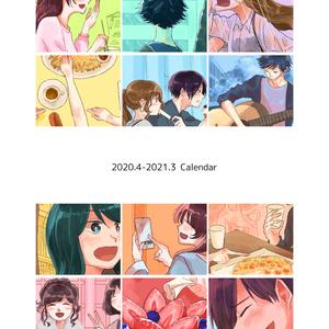 イラスト&コミック卓上カレンダー