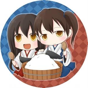 艦これ/赤城&加賀・缶ミラー