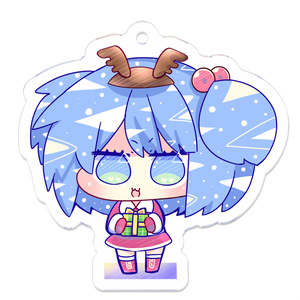 クリスマストナカイにとりちゃんからのプレゼント
