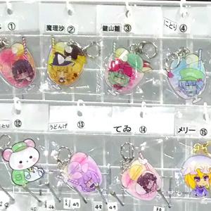 東方projectジュースフロートアクキー2