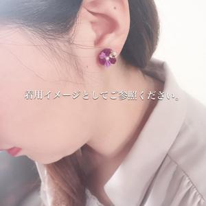 【静形薙刀】小花ちゃんピアス
