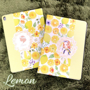 《受注生産》タブレットケース「レモン」
