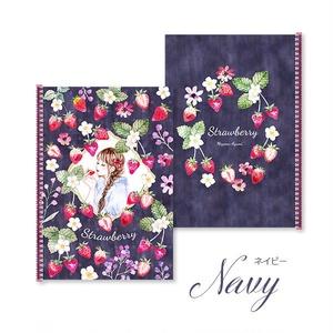 【2月中旬~末入荷】スケッチブック『Strawberry』A5サイズ