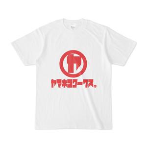 ヤマネコワークス Tシャツ No.1(白)