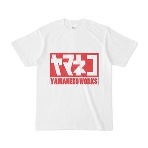 ヤマネコワークス Tシャツ No.2(白)