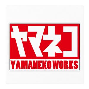 ヤマネコワークス ステッカー No.1