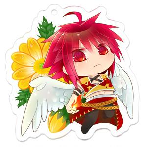 アクリルキーホルダー「赤毛の天上人」
