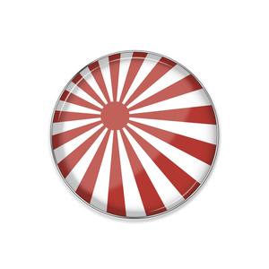 ピンバッジ 旭日旗