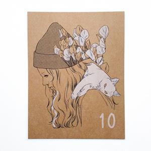 【10月】カレンダー 1枚単品