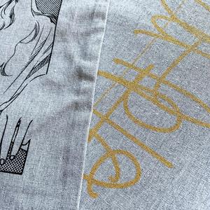 巾着【グレー 3種】