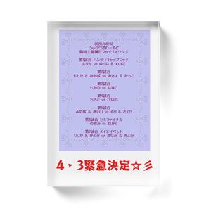 興行開催緊急決定w@4・3ウィラヴザワールド臨時主催興行ブロック☆彡