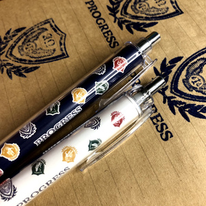 PROGRESSロゴ柄ボールペン&シャーペンセット