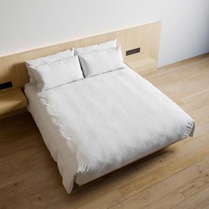 ホテル ベッド デュベスタイル - キングサイズ (W180cm)【家具3Dモデル】