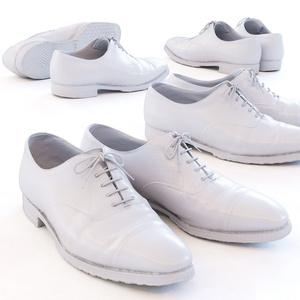 ビジネスシューズ - 革靴(内羽根式) 【3Dモデル】