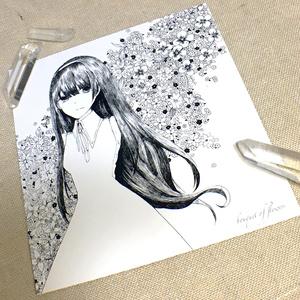 【創作】花束 ポストカード