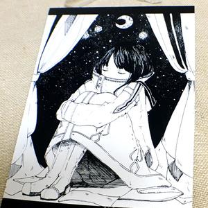 【創作】星に願いを ポストカード