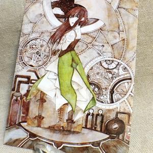 【創作】Steampunk ポストカード