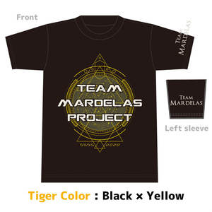 【SALE商品】Team Mardelas Project T-Shirt  Tiger color (及川モデル)