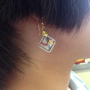 とうらぶ菱形耳飾り にっかり青江
