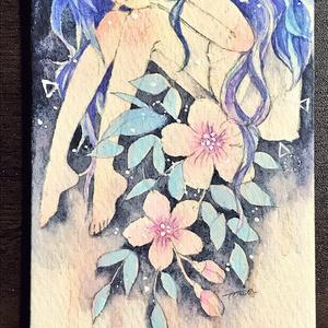 ATC原画「花の精」