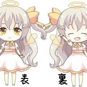 見習い天使シリーズ・セアラちゃんアクリルスタンド付きキーホルダー