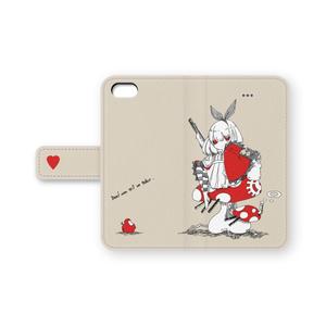 赤アリスのiPhoneケース